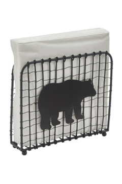 Park Designs Bear Wire Lunch Napkin Holder - Product List Image