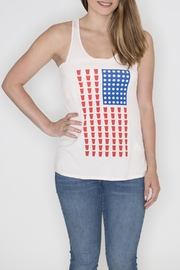 Bear Dance Beer Pong Tank Top - Front cropped