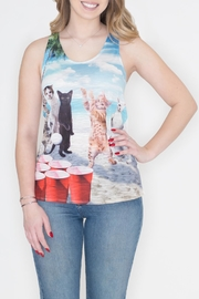 Bear Dance Cat Pong Tank - Product Mini Image