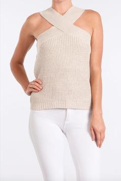 Shoptiques Product: Cross Collar Top