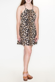 Bear Dance Leopard Print Dress - Product Mini Image
