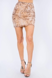 Bear Dance Mesh Mini Skirt - Product Mini Image
