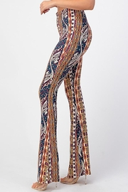 Bear Dance Printed Flair Palazzo Pants - Other