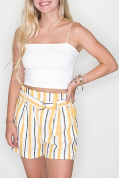 Bear Dance Ribbed Crop Top - Product List Image