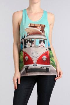 Bear Dance Traveling Cats Tank - Product List Image