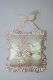 Bearington Baby Collection Dreaming Dancer Pillow - Product Mini Image