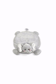 Bearington Baby Collection Elephant Belly Blanket - Front cropped