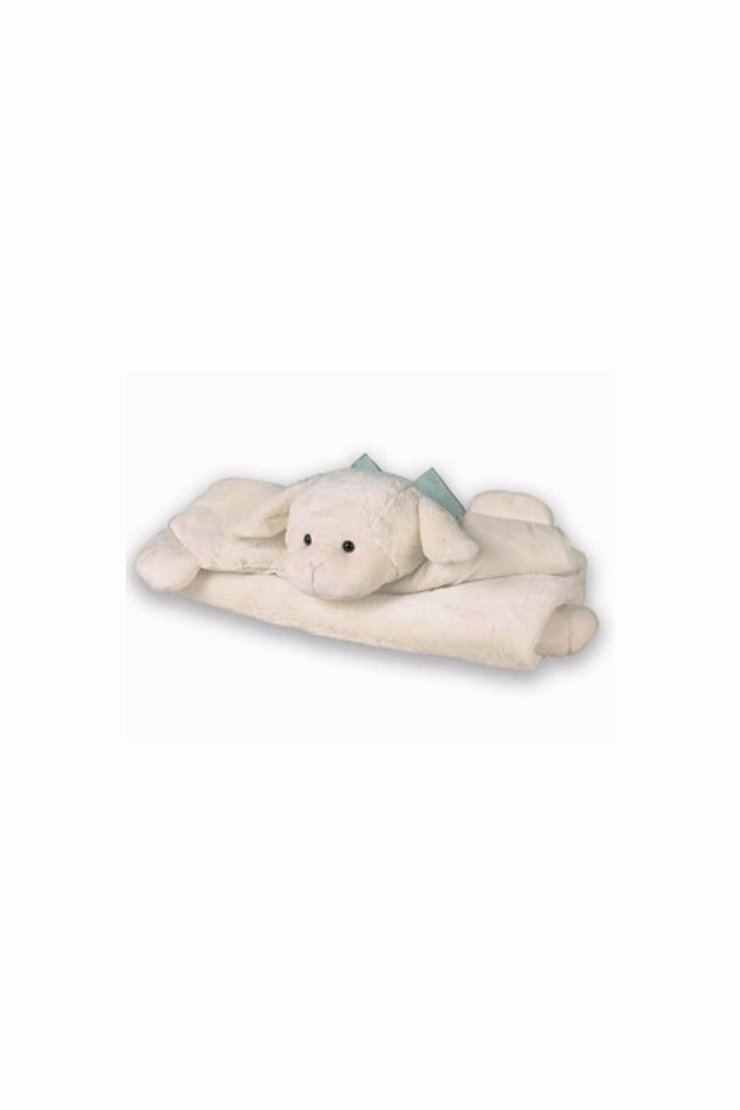 Bearington Baby Collection Lamby Belly Blanket - Front Cropped Image