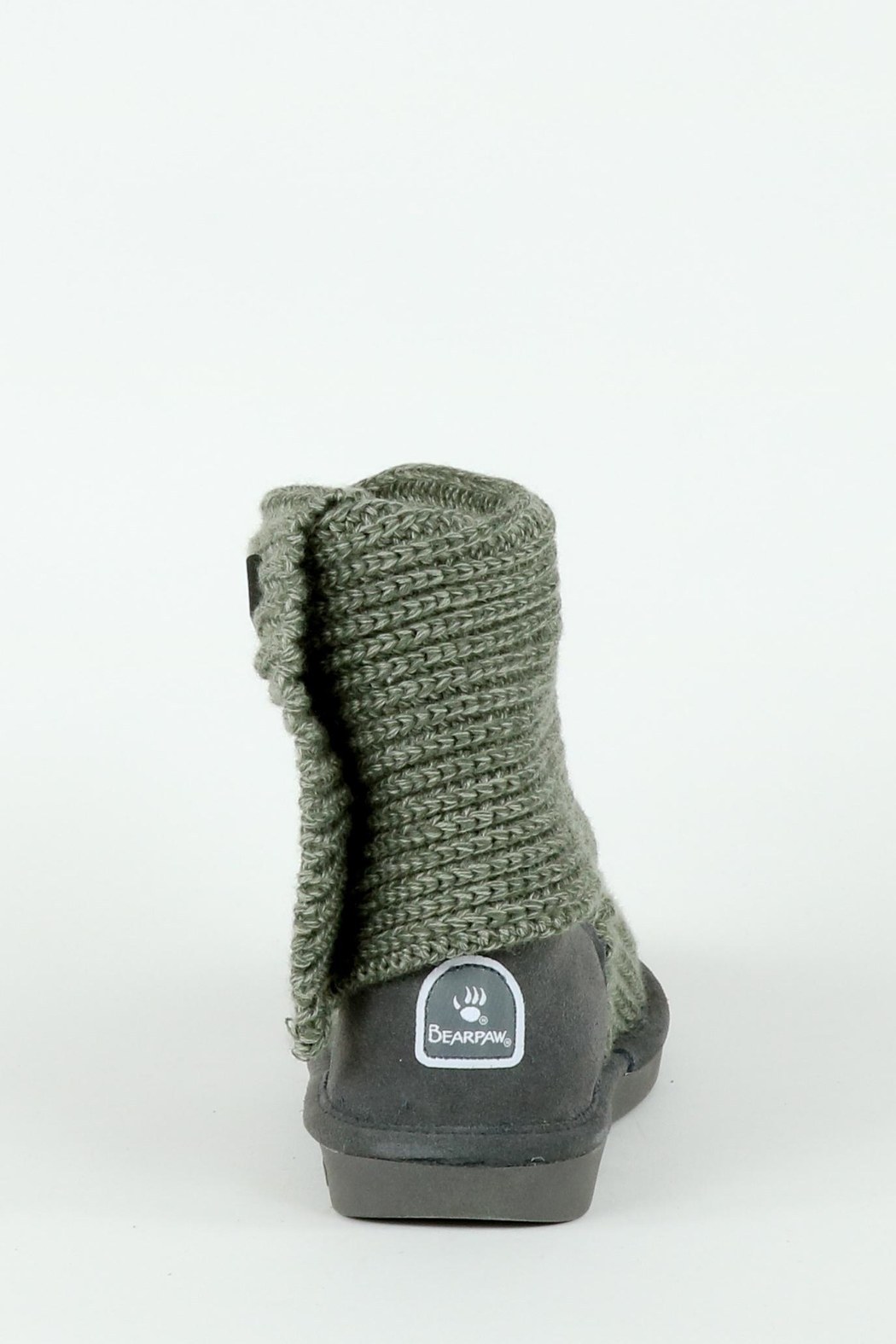 Bearpaw Tall Knit Boot - Side Cropped Image