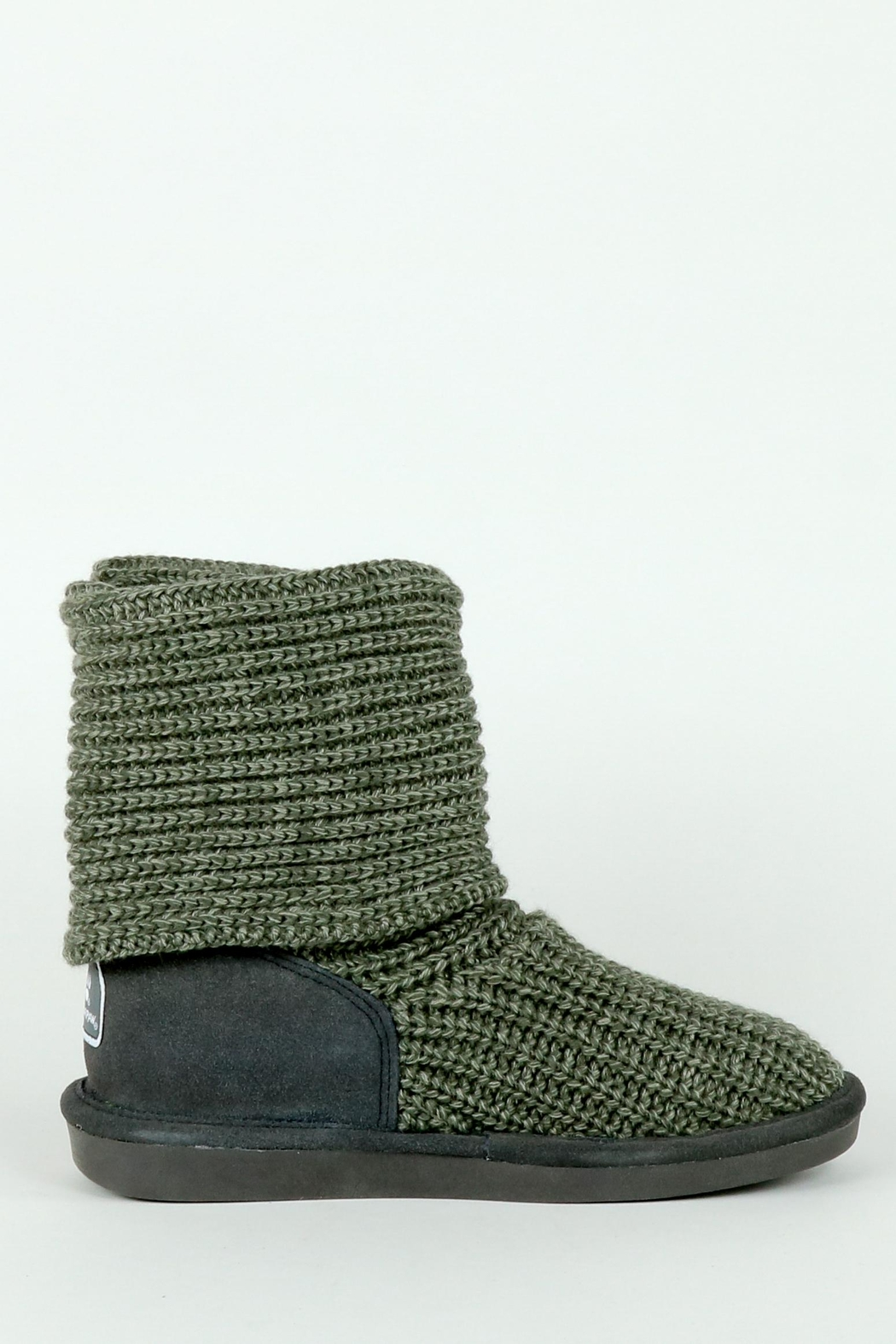 Bearpaw Tall Knit Boot - Front Full Image