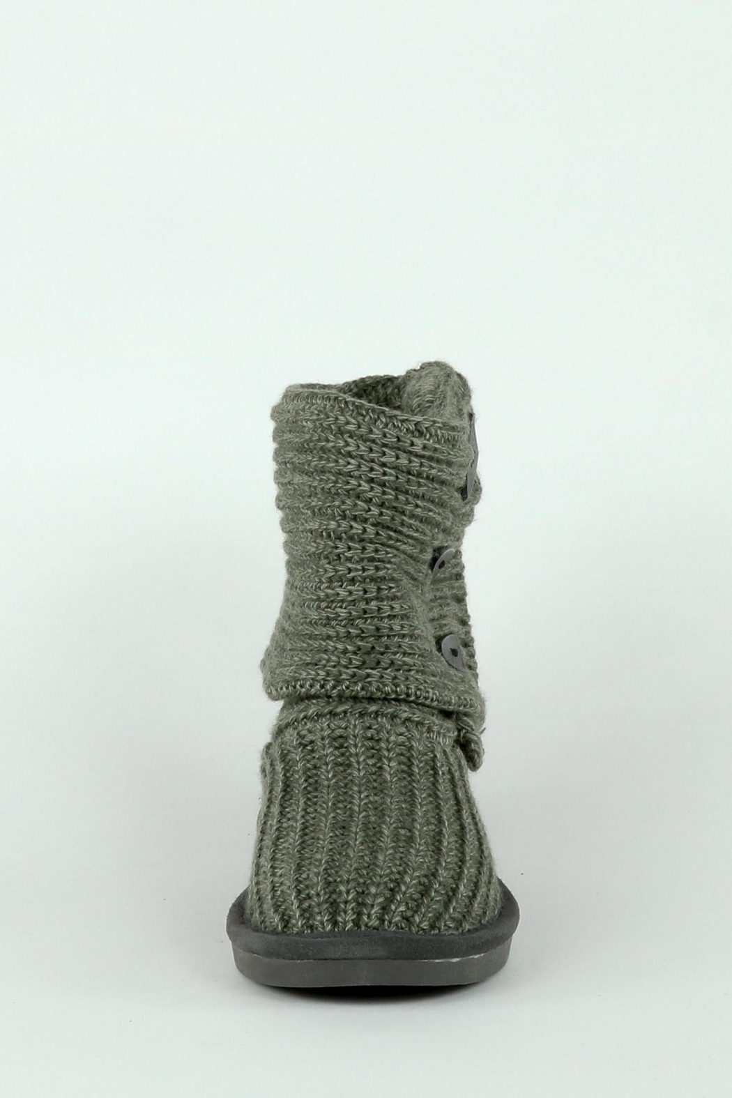 Bearpaw Tall Knit Boot - Front Cropped Image