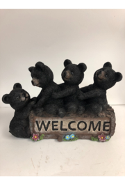 Slifka Sales Bears on Welcome Sign - Front cropped