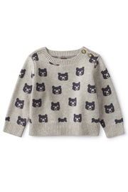 Tea Collection  Beary Cozy Baby Sweater - Product Mini Image