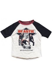 Rowdy Sprout Beastie Boys Raglan - Front cropped