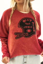 Mamie Ruth Beat the Other Team Sweatshirt - Front cropped
