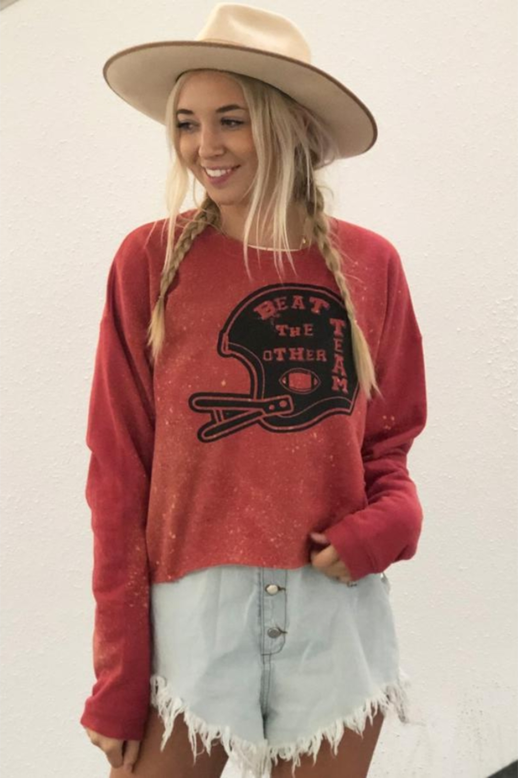 Mamie Ruth Beat the Other Team Sweatshirt - Front Full Image