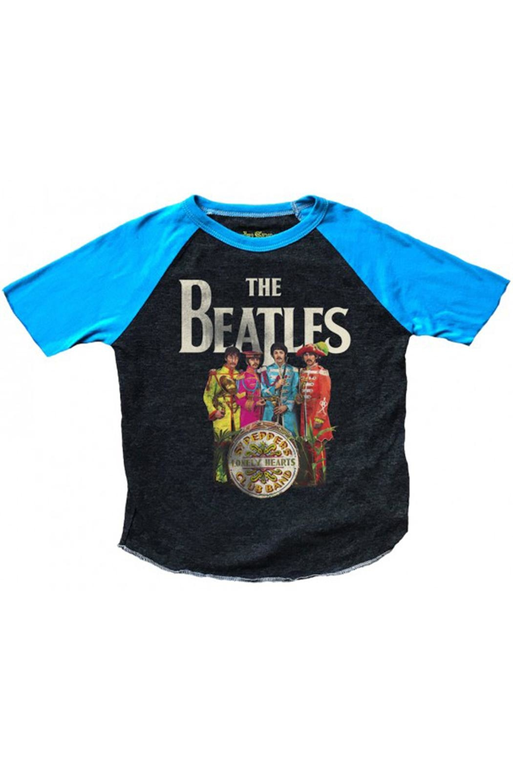 Rowdy Sprout Beatles Short-Sleeve Raglan - Main Image