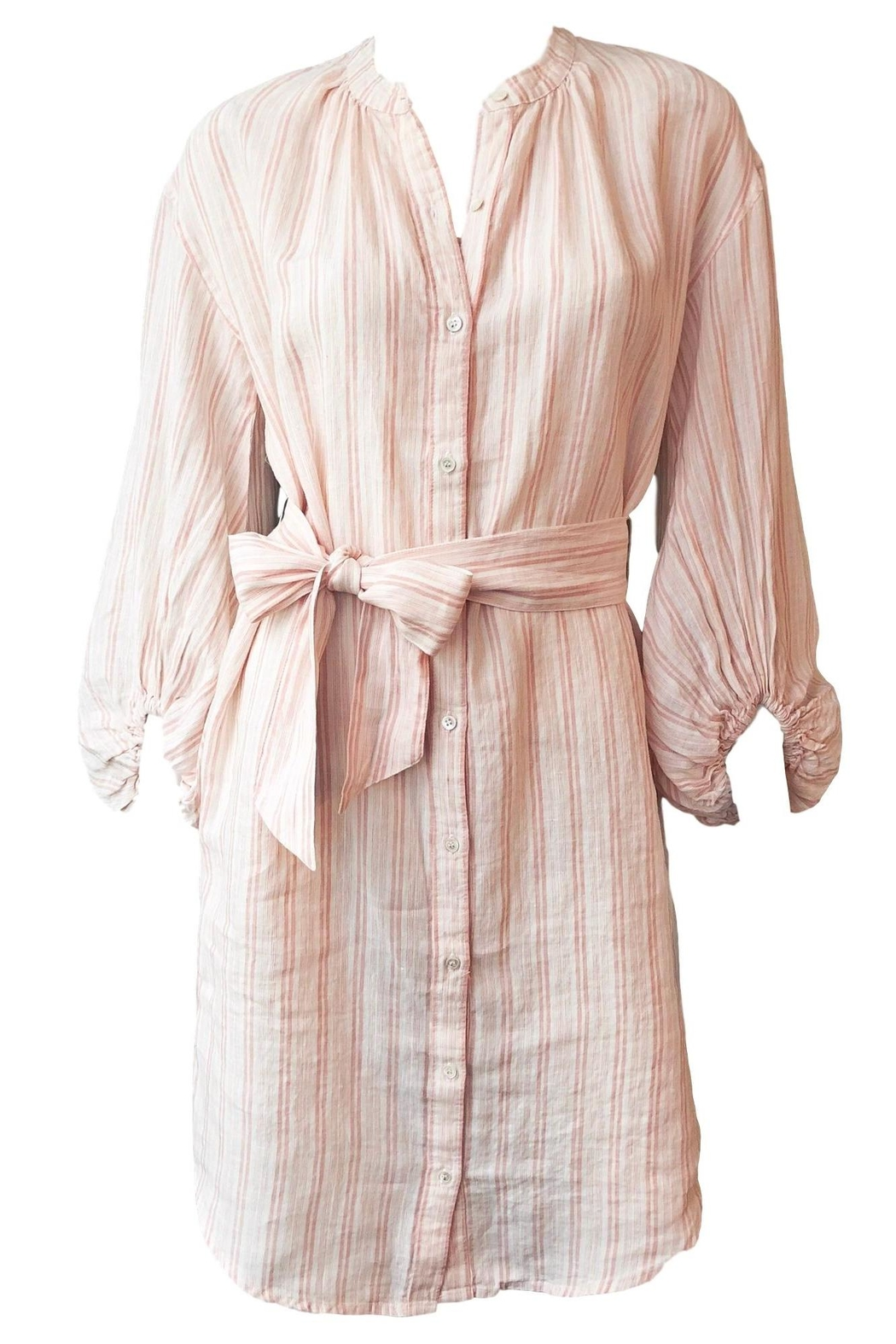 Joie Beatrissa Shirt Dress - Front Cropped Image