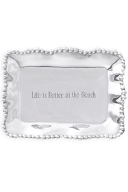 Beatriz Ball Organic Pearl Engraved-Tray - Product Mini Image