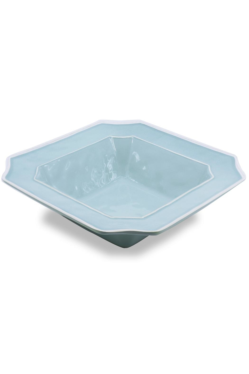 Beatriz Ball Vida Charleston Blue Bowl-Large - Front Full Image