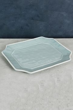 Beatriz Ball Vida Charleston Blue Platter-Large Rectangle - Product List Image
