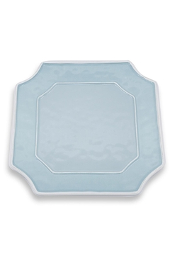 Beatriz Ball Vida Charleston Blue Platter-Large Square - Alternate List Image