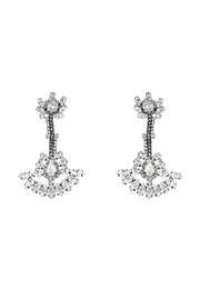 Beatriz Kirru Vintage Crystal Earrings - Front cropped