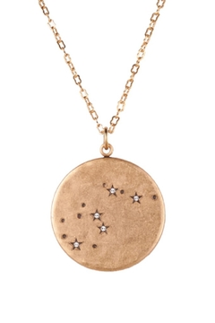 Beaucoup Designs Aquarius Constellation Necklace - Product List Image