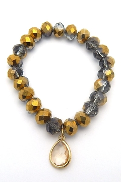 Beaucoup Designs Beaded Stretch Bracelet - Product List Image