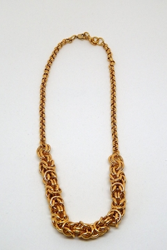 Beaucoup Designs Camille Gold Necklace - Product List Image
