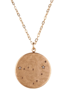 Beaucoup Designs Capricorn Constellation Necklace - Product List Image