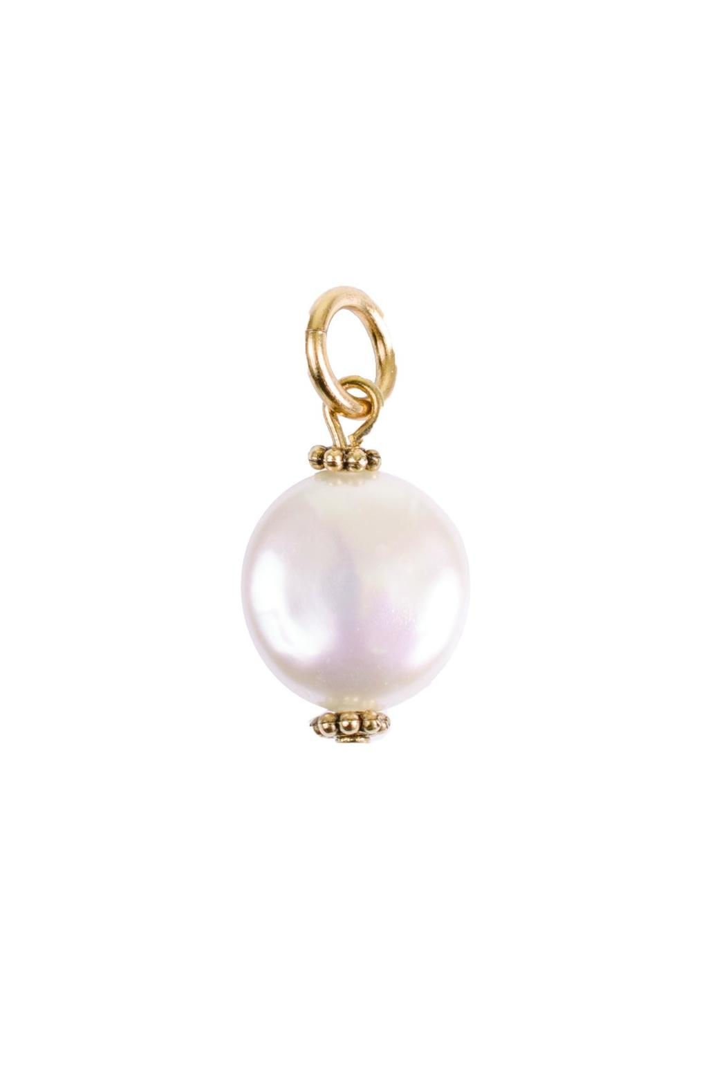 Beaucoup Designs Coin Pearl Charm - Main Image