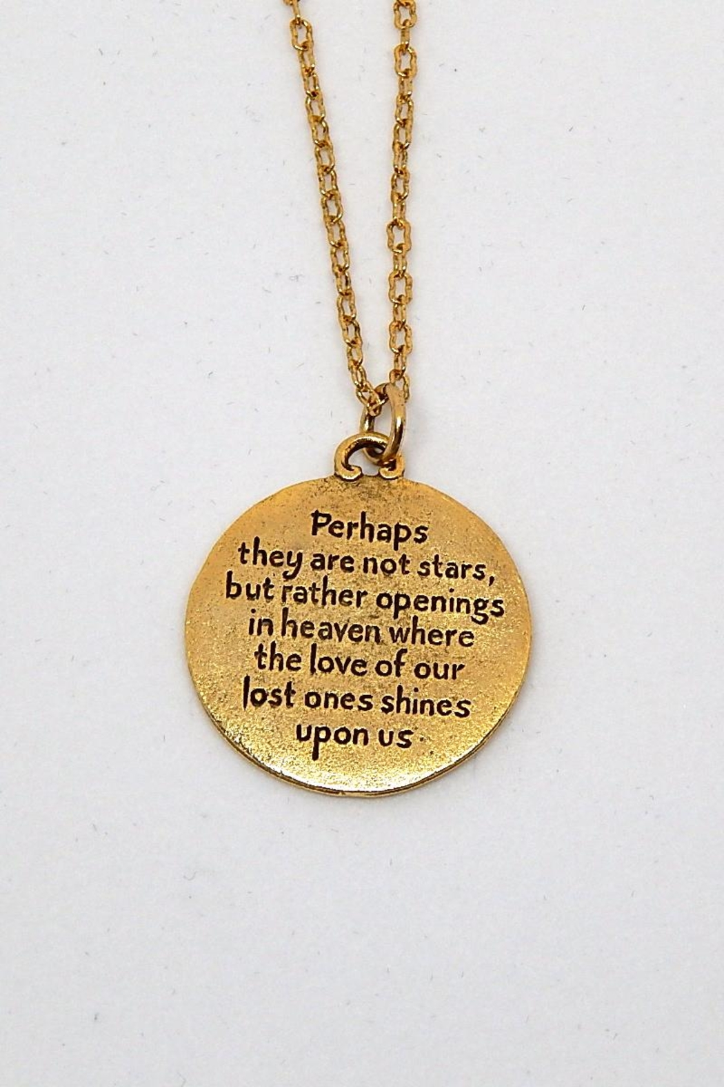 Beaucoup Designs Constellation Necklace - Side Cropped Image