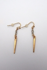 Beaucoup Designs Dahlia Gold Earrings - Front cropped