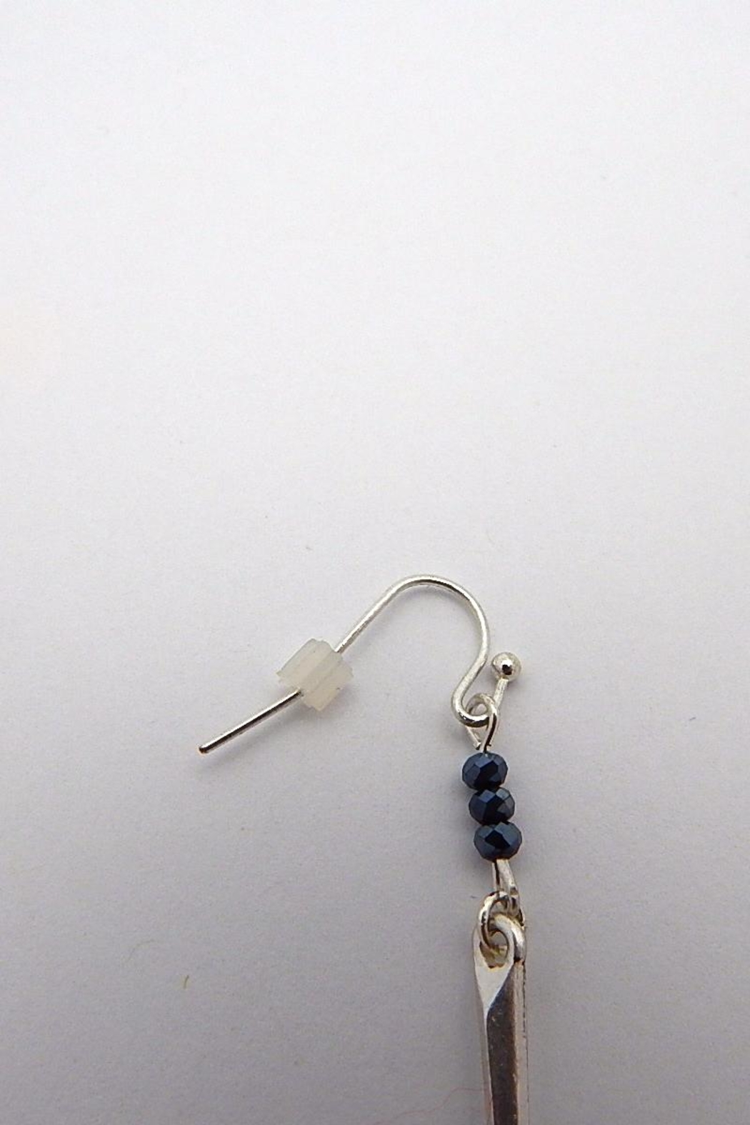 Beaucoup Designs Dahlia Silver Earrings - Front Full Image