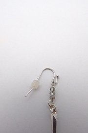 Beaucoup Designs Dahlia Silver Earrings - Front full body