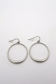 Beaucoup Designs Dahlia Silver Earrings - Front cropped