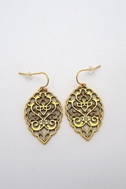 Beaucoup Designs Gold Bohemian Earrings - Front cropped