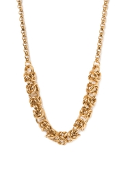Beaucoup Designs Gold Byzantine Necklace - Product Mini Image