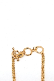 Beaucoup Designs Gold Camille Bracelet - Side cropped