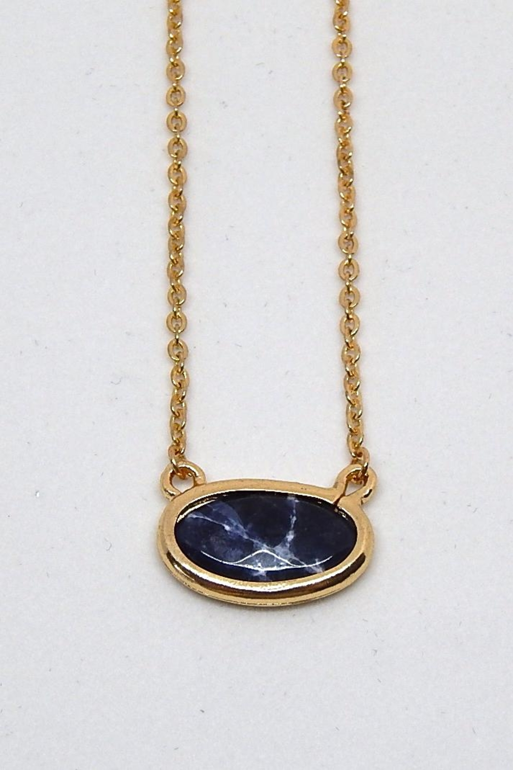 Beaucoup Designs Gold Camille Necklace - Front Full Image