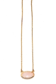 Beaucoup Designs Gold Camille Necklace - Product Mini Image