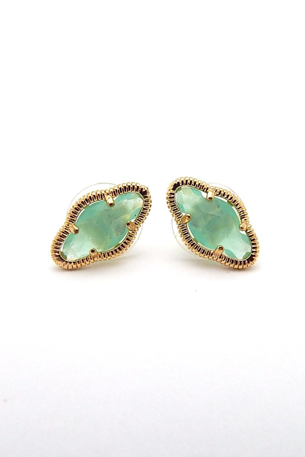 Beaucoup Designs Lily Gold Earrings - Front Cropped Image