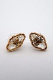 Beaucoup Designs Lily Gold Earrings - Product Mini Image