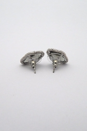 Beaucoup Designs Lily Silver Earrings - Front full body