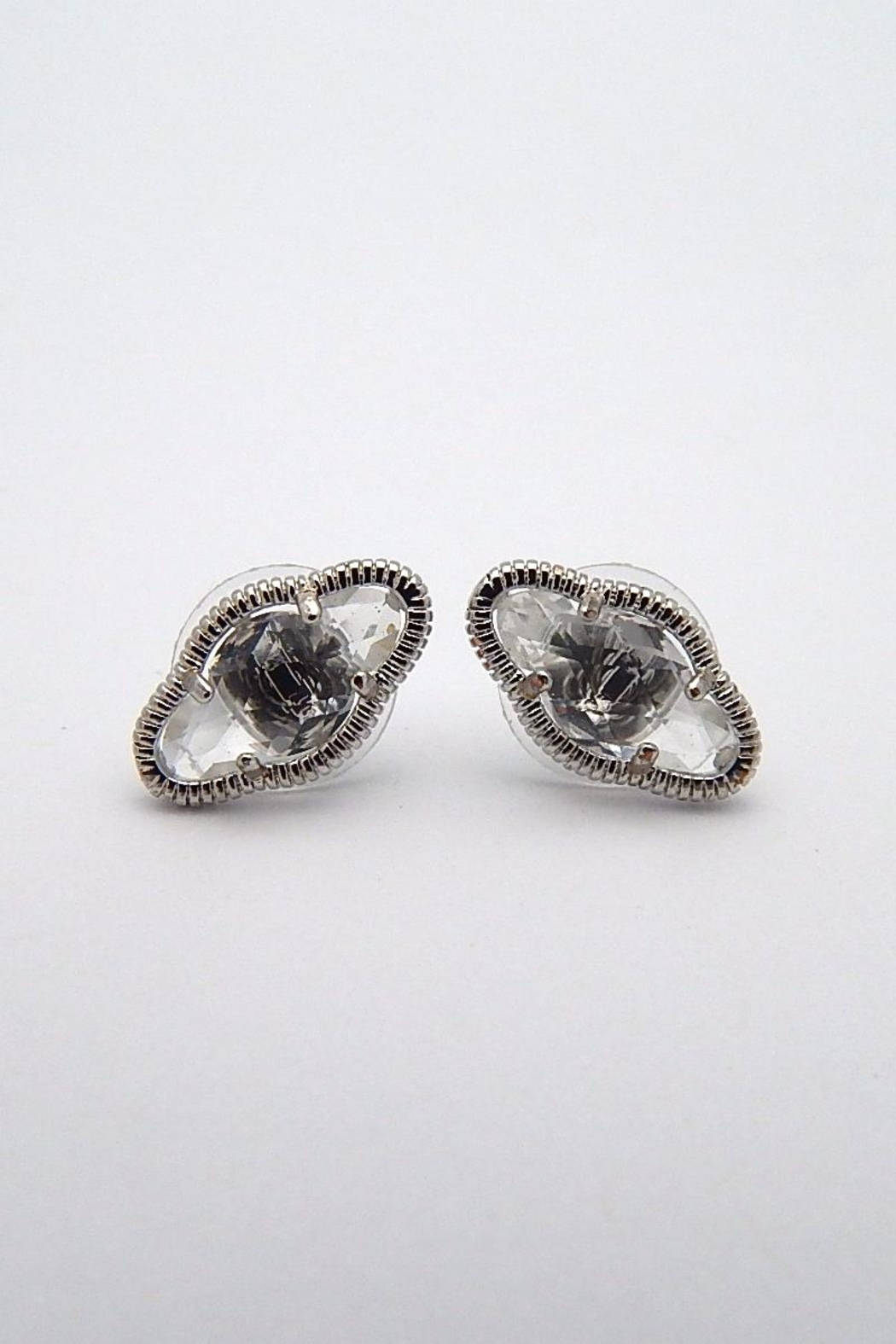 Beaucoup Designs Lily Silver Earrings - Main Image
