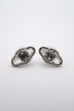Beaucoup Designs Lily Silver Earrings - Product List Image
