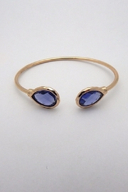 Beaucoup Designs Lily Teardrop Cuff Bracelet - Front cropped