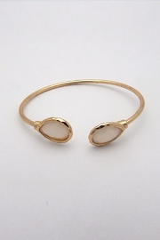 Beaucoup Designs Lily Teardrop Cuff Bracelet - Product Mini Image