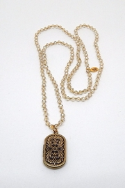 Beaucoup Designs Luxe Clear Necklace - Product Mini Image